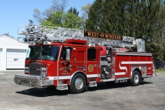 West Windsor L43. 13 E-One 1500-470-30-75Ft